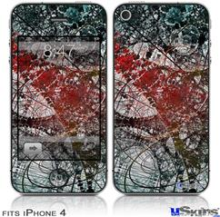 iPhone 4 Decal Style Vinyl Skin - Tissue (DOES NOT fit newer iPhone 4S)
