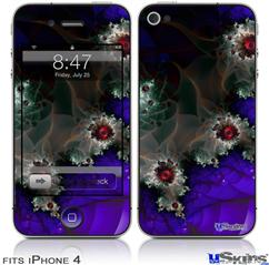 iPhone 4 Decal Style Vinyl Skin - Foamy (DOES NOT fit newer iPhone 4S)