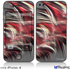 iPhone 4 Decal Style Vinyl Skin - Fur (DOES NOT fit newer iPhone 4S)