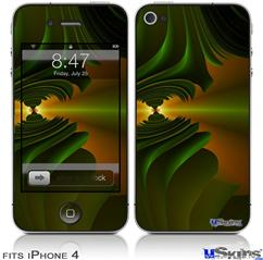 iPhone 4 Decal Style Vinyl Skin - Contact (DOES NOT fit newer iPhone 4S)