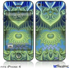 iPhone 4 Decal Style Vinyl Skin - Heaven 05 (DOES NOT fit newer iPhone 4S)