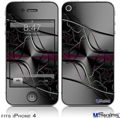 iPhone 4 Decal Style Vinyl Skin - Lighting2 (DOES NOT fit newer iPhone 4S)