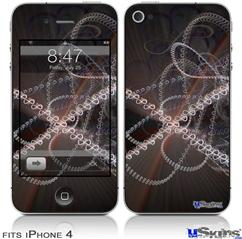 iPhone 4 Decal Style Vinyl Skin - Infinity (DOES NOT fit newer iPhone 4S)