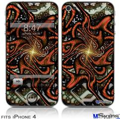 iPhone 4 Decal Style Vinyl Skin - Knot (DOES NOT fit newer iPhone 4S)