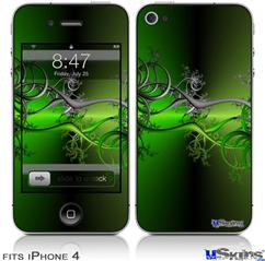 iPhone 4 Decal Style Vinyl Skin - Lighting (DOES NOT fit newer iPhone 4S)