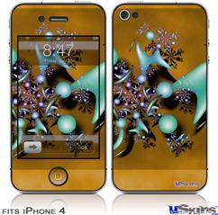 iPhone 4 Decal Style Vinyl Skin - Mirage (DOES NOT fit newer iPhone 4S)