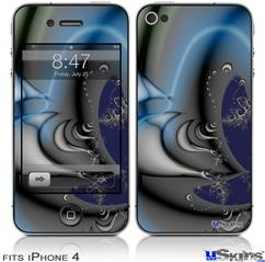 iPhone 4 Decal Style Vinyl Skin - Plastic (DOES NOT fit newer iPhone 4S)