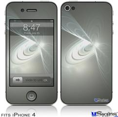 iPhone 4 Decal Style Vinyl Skin - Ripples Of Light (DOES NOT fit newer iPhone 4S)