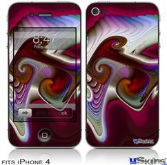 iPhone 4 Decal Style Vinyl Skin - Racer (DOES NOT fit newer iPhone 4S)