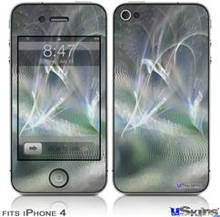 iPhone 4 Decal Style Vinyl Skin - Ripples Of Time (DOES NOT fit newer iPhone 4S)