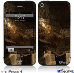 iPhone 4 Decal Style Vinyl Skin - Sanctuary (DOES NOT fit newer iPhone 4S)