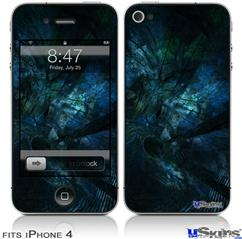 iPhone 4 Decal Style Vinyl Skin - Sigmaspace (DOES NOT fit newer iPhone 4S)