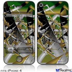 iPhone 4 Decal Style Vinyl Skin - Shatterday (DOES NOT fit newer iPhone 4S)