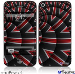 iPhone 4 Decal Style Vinyl Skin - Up And Down (DOES NOT fit newer iPhone 4S)