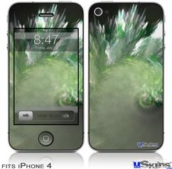 iPhone 4 Decal Style Vinyl Skin - Wave (DOES NOT fit newer iPhone 4S)