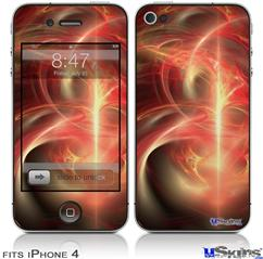 iPhone 4 Decal Style Vinyl Skin - Ignition (DOES NOT fit newer iPhone 4S)