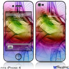 iPhone 4 Decal Style Vinyl Skin - Burst (DOES NOT fit newer iPhone 4S)