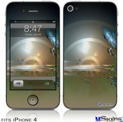 iPhone 4 Decal Style Vinyl Skin - Portal (DOES NOT fit newer iPhone 4S)