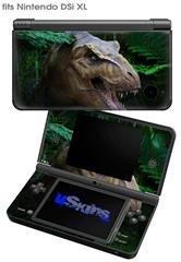 T-Rex - Decal Style Skin fits Nintendo DSi XL (DSi SOLD SEPARATELY)