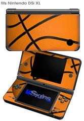 Basketball - Decal Style Skin fits Nintendo DSi XL (DSi SOLD SEPARATELY)