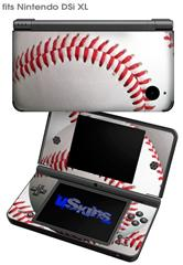 Baseball - Decal Style Skin fits Nintendo DSi XL (DSi SOLD SEPARATELY)