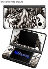 Thulhu - Decal Style Skin fits Nintendo DSi XL (DSi SOLD SEPARATELY)