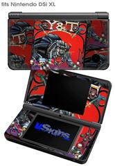 Y&T Black Tiger Covers - Decal Style Skin fits Nintendo DSi XL (DSi SOLD SEPARATELY)