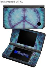 Tie Dye Peace Sign 107 - Decal Style Skin fits Nintendo DSi XL (DSi SOLD SEPARATELY)