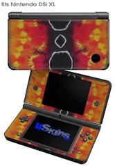 Tie Dye Spine 100 - Decal Style Skin fits Nintendo DSi XL (DSi SOLD SEPARATELY)