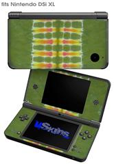 Tie Dye Spine 101 - Decal Style Skin fits Nintendo DSi XL (DSi SOLD SEPARATELY)