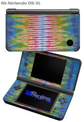 Tie Dye Spine 102 - Decal Style Skin fits Nintendo DSi XL (DSi SOLD SEPARATELY)