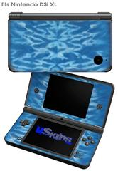 Tie Dye Spine 103 - Decal Style Skin fits Nintendo DSi XL (DSi SOLD SEPARATELY)