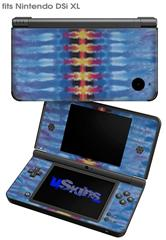 Tie Dye Spine 104 - Decal Style Skin fits Nintendo DSi XL (DSi SOLD SEPARATELY)