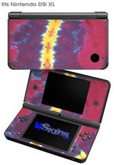 Tie Dye Spine 105 - Decal Style Skin fits Nintendo DSi XL (DSi SOLD SEPARATELY)