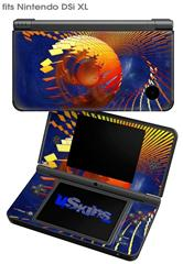 Genesis 01 - Decal Style Skin fits Nintendo DSi XL (DSi SOLD SEPARATELY)