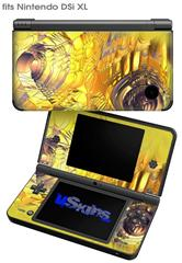 Golden Breasts - Decal Style Skin fits Nintendo DSi XL (DSi SOLD SEPARATELY)