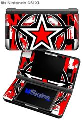 Star Checker Splatter - Decal Style Skin fits Nintendo DSi XL (DSi SOLD SEPARATELY)