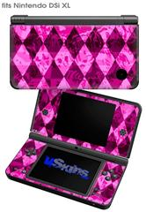 Pink Diamond - Decal Style Skin fits Nintendo DSi XL (DSi SOLD SEPARATELY)