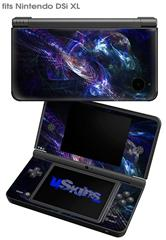Black Hole - Decal Style Skin fits Nintendo DSi XL (DSi SOLD SEPARATELY)