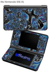 Broken Plastic - Decal Style Skin fits Nintendo DSi XL (DSi SOLD SEPARATELY)