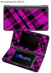 Pink Plaid - Decal Style Skin fits Nintendo DSi XL (DSi SOLD SEPARATELY)