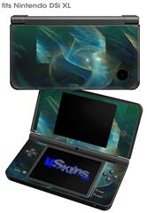 Aquatic - Decal Style Skin fits Nintendo DSi XL (DSi SOLD SEPARATELY)