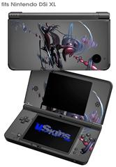 Julia Variation - Decal Style Skin fits Nintendo DSi XL (DSi SOLD SEPARATELY)