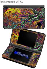 Fire And Water - Decal Style Skin fits Nintendo DSi XL (DSi SOLD SEPARATELY)