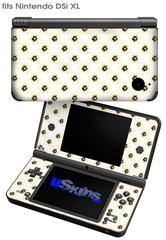Kearas Daisies Diffuse Glow Yellow - Decal Style Skin fits Nintendo DSi XL (DSi SOLD SEPARATELY)