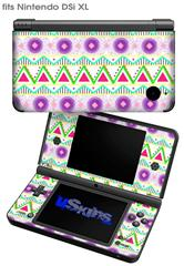 Kearas Tribal 1 - Decal Style Skin fits Nintendo DSi XL (DSi SOLD SEPARATELY)