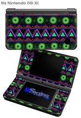 Kearas Tribal 2 - Decal Style Skin fits Nintendo DSi XL (DSi SOLD SEPARATELY)