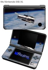 Hubble Images - Hubble Orbiting Earth - Decal Style Skin fits Nintendo DSi XL (DSi SOLD SEPARATELY)