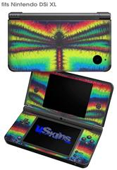 Tie Dye Dragonfly - Decal Style Skin fits Nintendo DSi XL (DSi SOLD SEPARATELY)