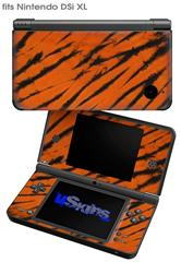 Tie Dye Bengal Belly Stripes - Decal Style Skin fits Nintendo DSi XL (DSi SOLD SEPARATELY)